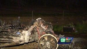 CHP: 2 killed in fiery, head-on crash on I-5 in Yolo County