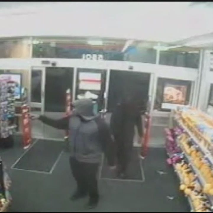 Video shows robber pistol-whip Walgreens employee