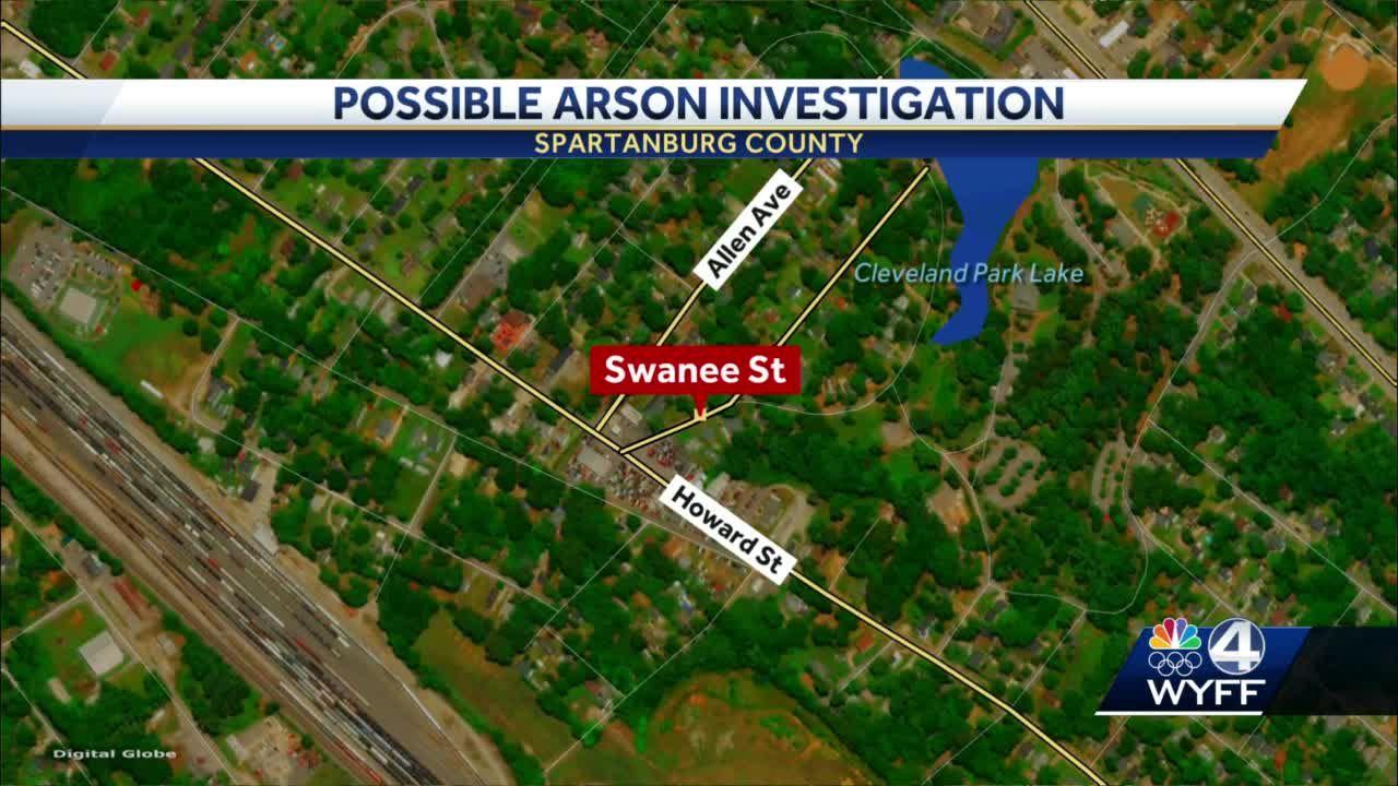 Spartanburg County Arson
