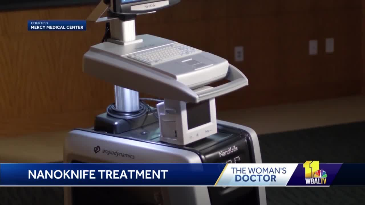 Surgeons can target cancerous tissue using NanoKnife