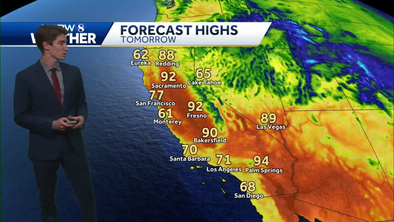 KSBW 8 Weather for May, 9
