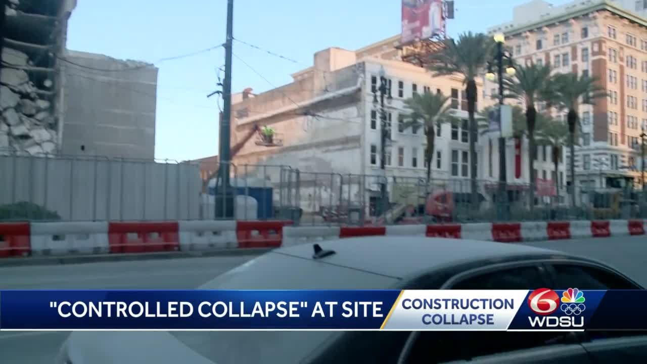 Another portion of Hard Rock Hotel site demolished in controlled collapse