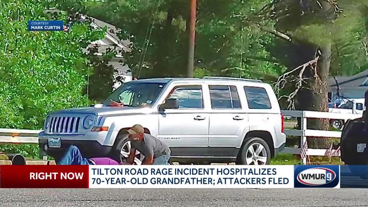 Tilton road rage incident hospitalizes 70-year-old man