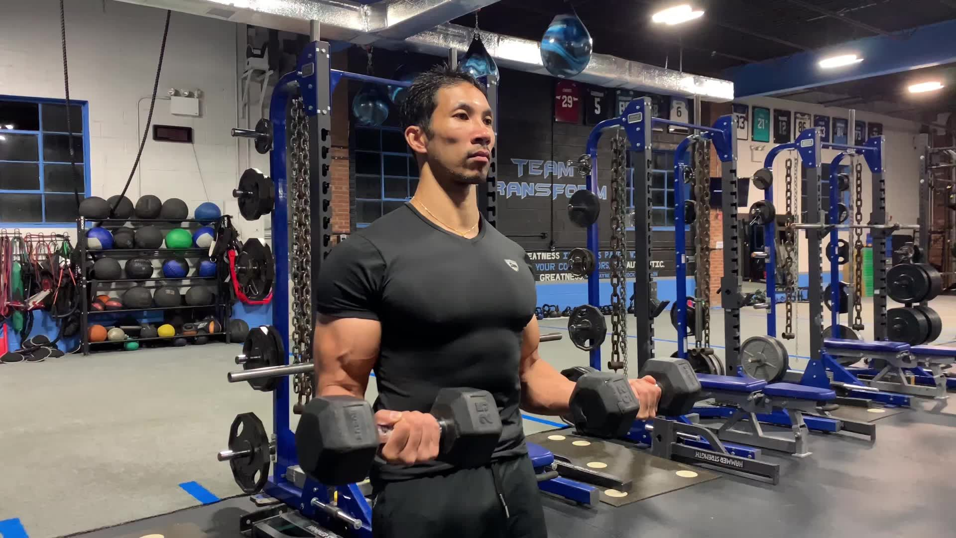 This Series Forces You to Find Your Perfect Biceps Curl Form