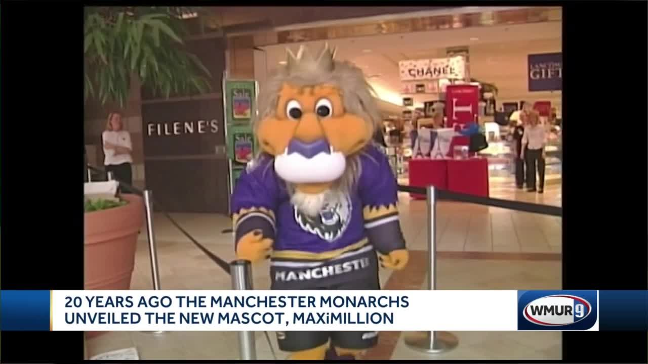 20 years ago, Manchester Monarchs unveiled new mascot