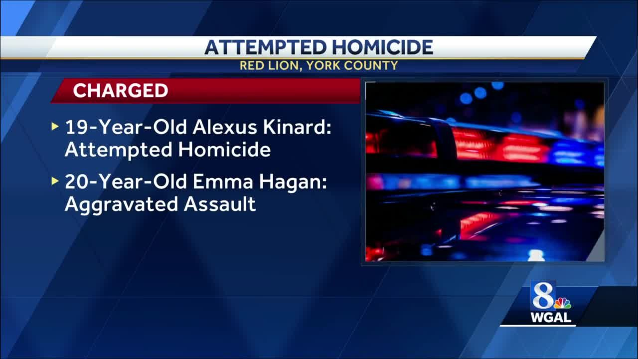 Attempted homicide in Red Lion