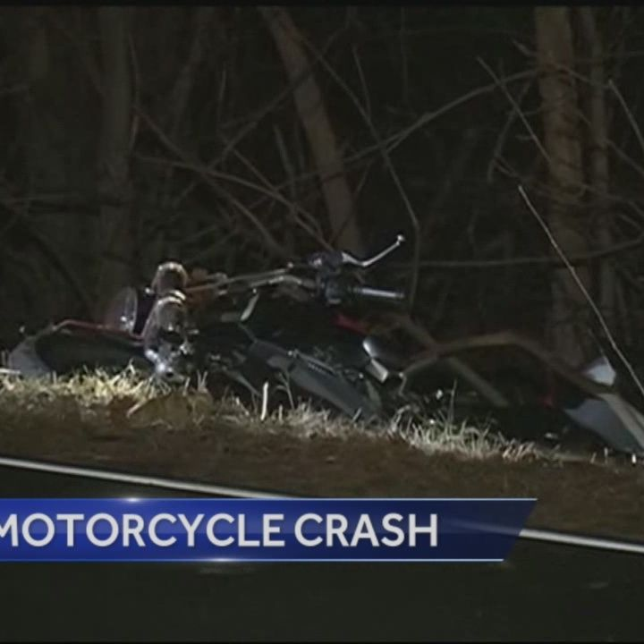 Hudson Motorcycle Crash Sends Man To Hospital