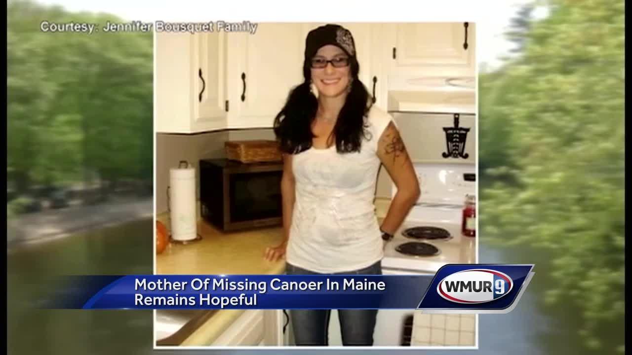 Mother of missing canoer remains hopeful