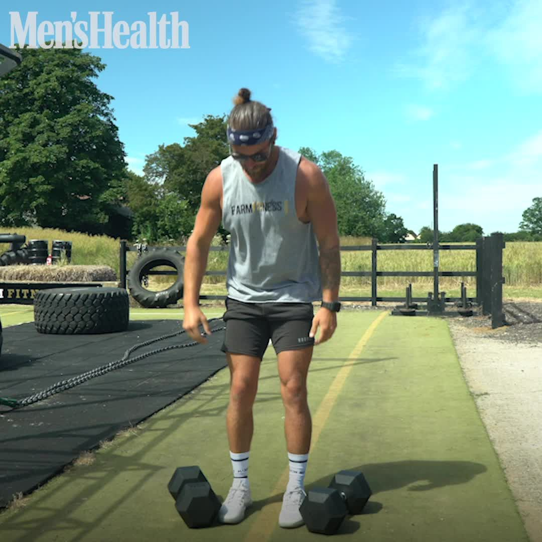 Try This 'E3MOM' Dumbbell Workout to Burn Fat in Just 30 Minutes