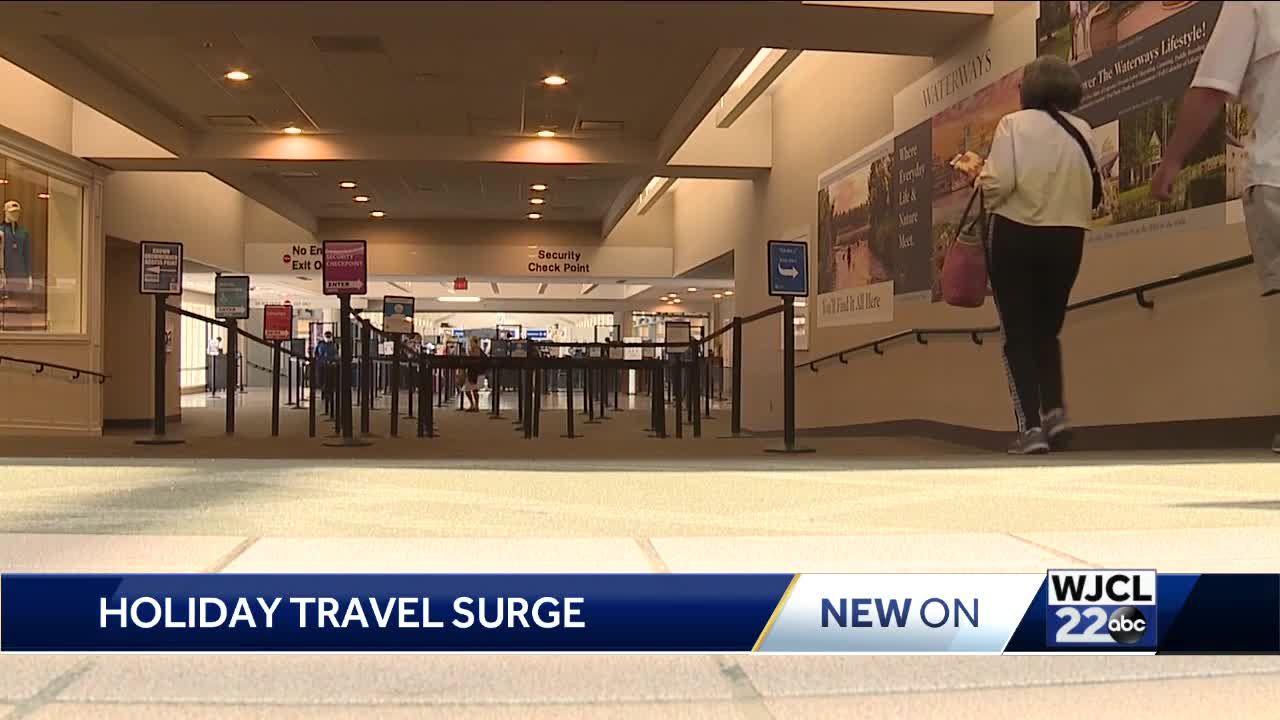 Holiday Travel Surge