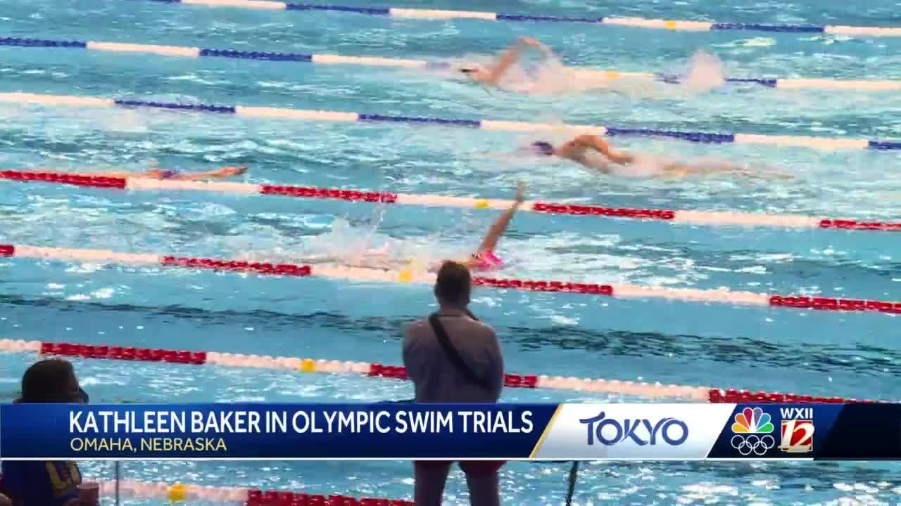 Winston-Salem swimmer Kathleen Baker competes in Olympic swim trials
