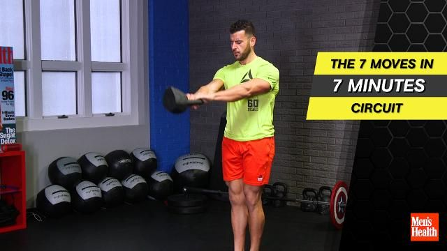 This 7-Move Workout Hits Your Entire Body in 7 Minutes