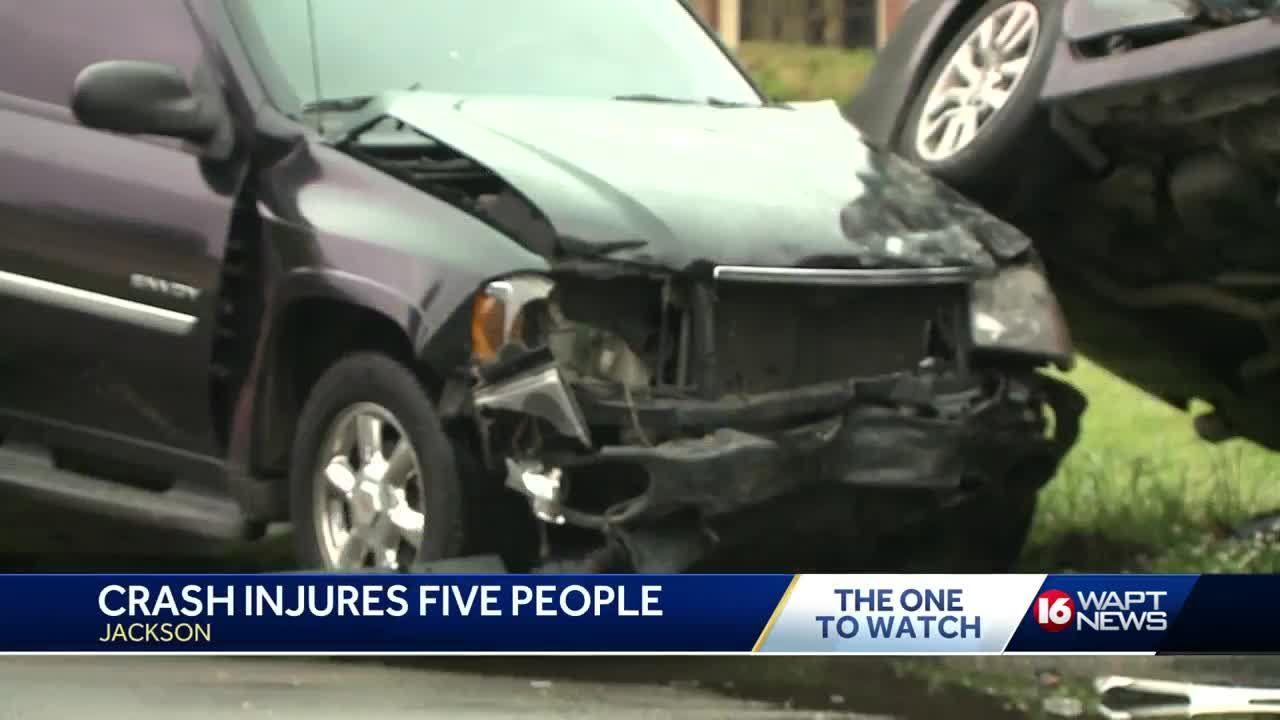 Two car wreck on California Avenue