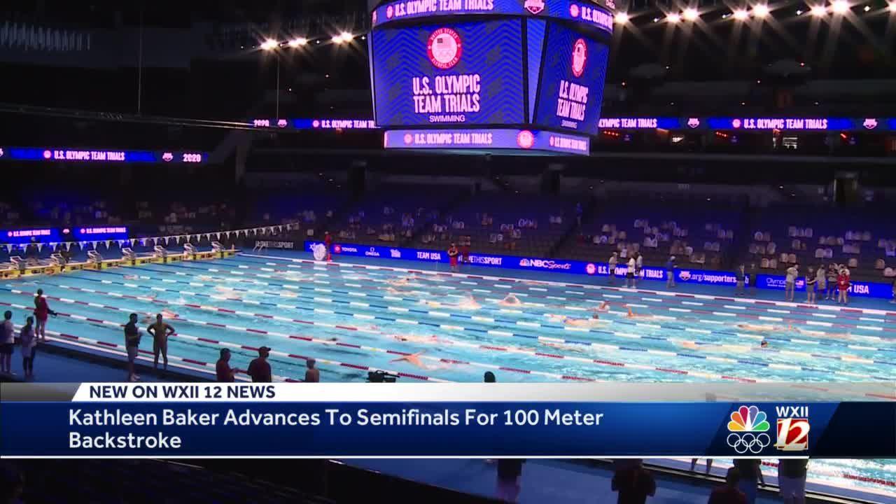 Winston-Salem swimmer Kathleen Baker competes for Olympic spot