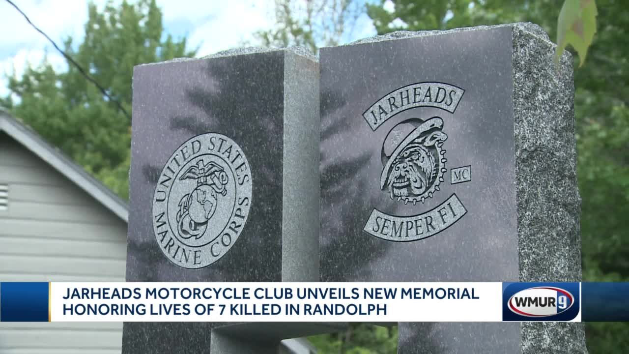 Jarheads Motorcycle Club unveils new memorial honoring lives of 7 killed in Randolph