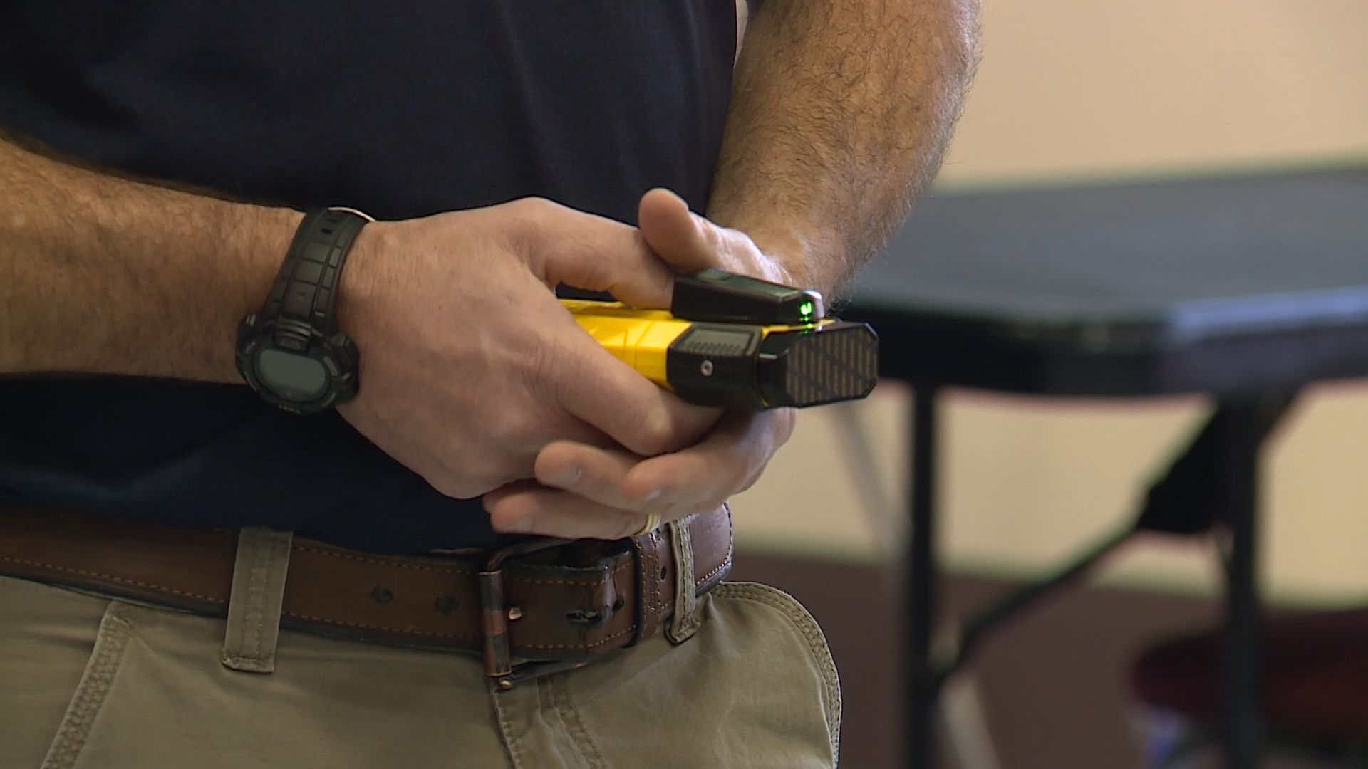 Portland police test new device to restrain people without use of force