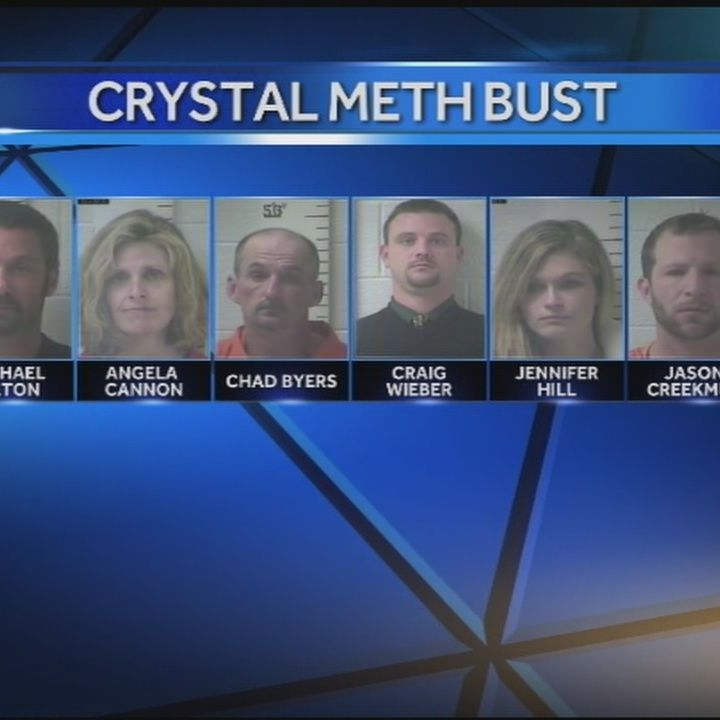 Several arrested in drug bust