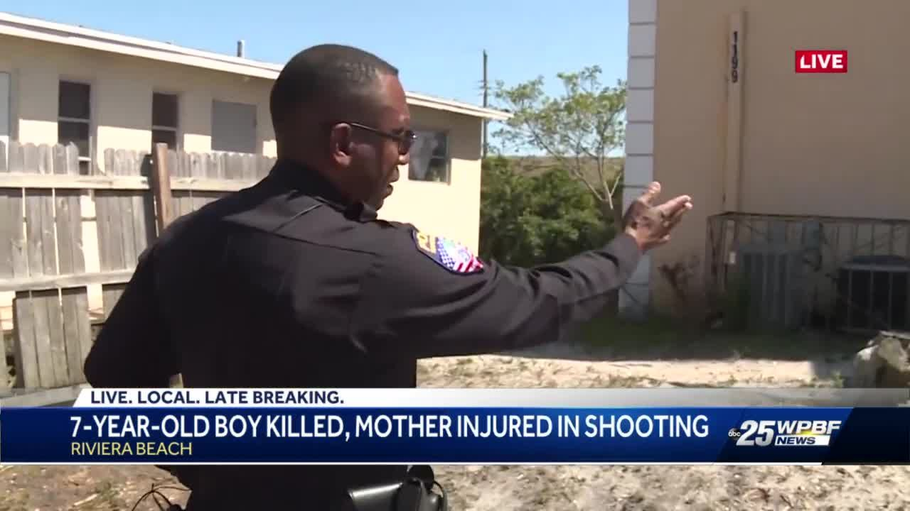 7 year old boy killed, mother injured in shooting