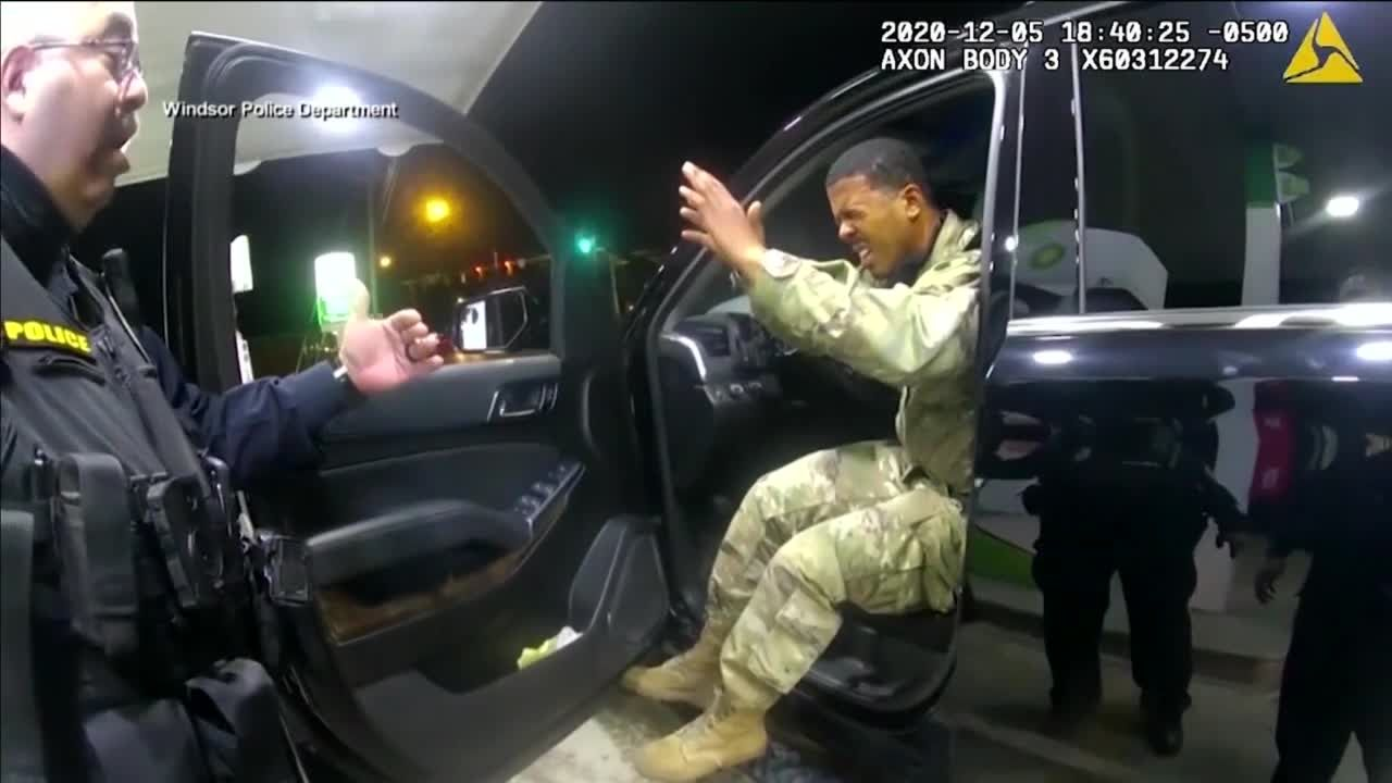 Oklahoma National Guard member identifies with Army officer at center of Virginia traffic stop