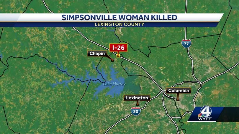 Crash in the Midlands claims the life of a Simpsonville woman