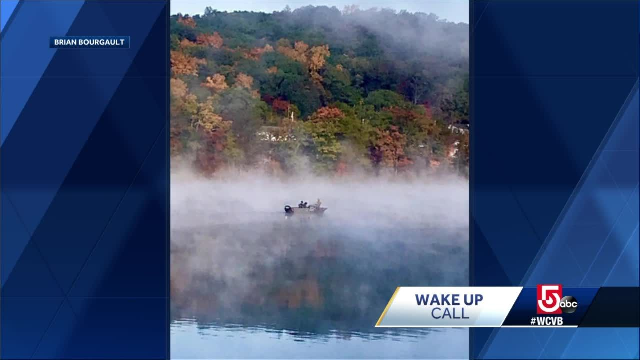 Wake Up Call: Gorgeous foggy fall shots