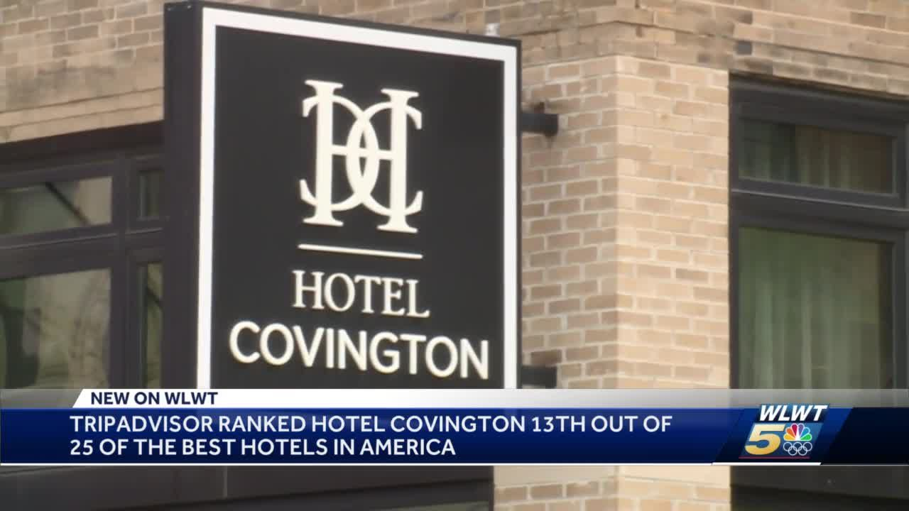 Hotel Covington rated as one of the best in the country by Tripadvisor