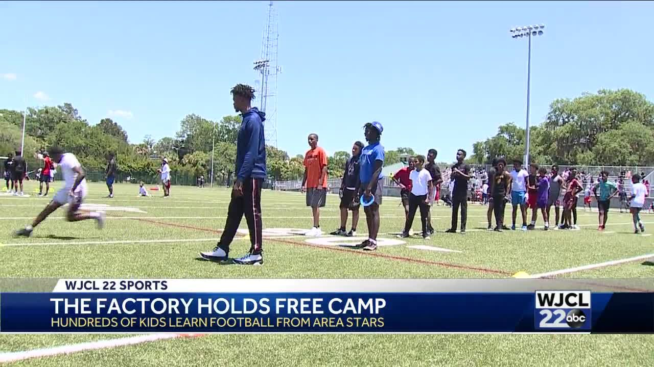 The Factory holds free football camp