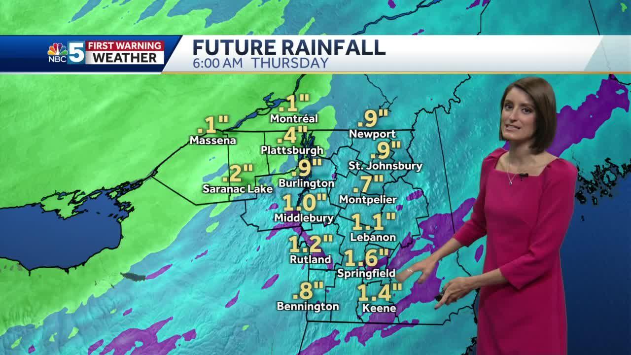 Video: Heavier rain returns Wednesday 5/4/21