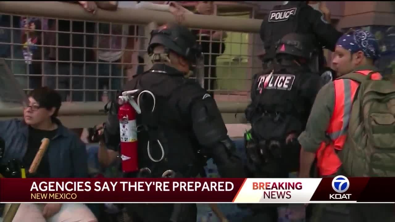 Officials prepare for unrest in Albuquerque
