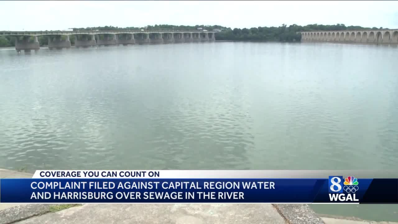 Complaint filed over raw sewage discharged into Susquehanna River