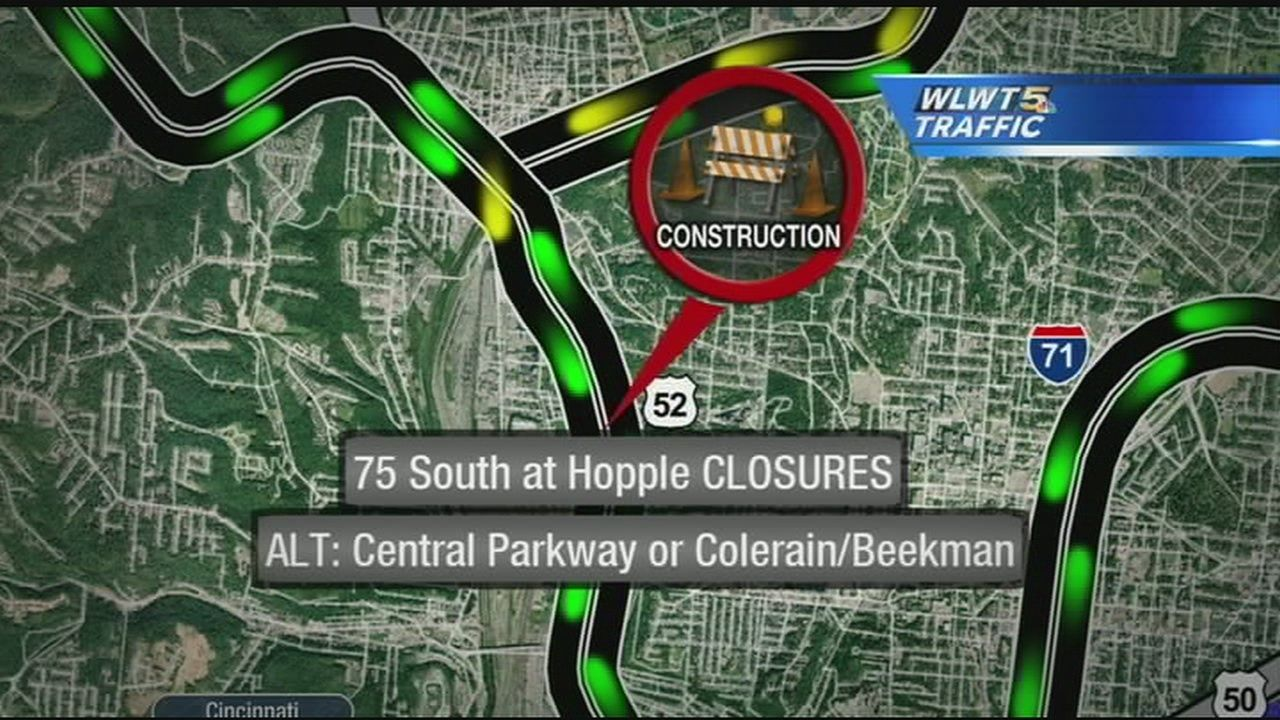 I 75 Lane Closures To Cause Delays This Weekend