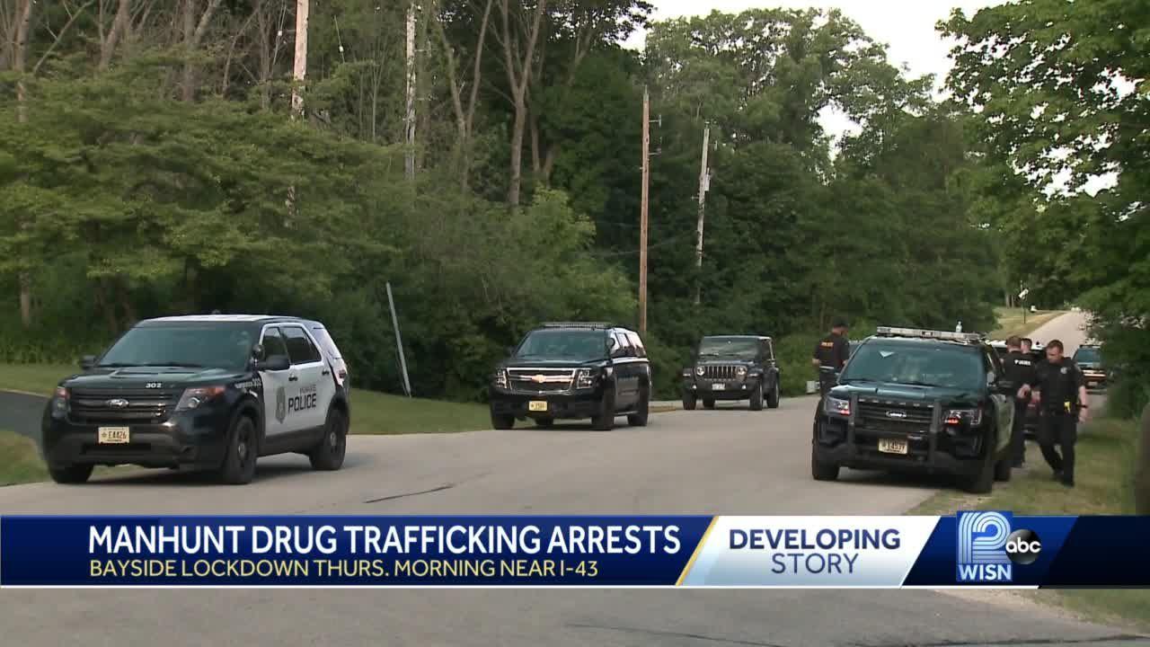 Two men face federal drug charges after Bayside manhunt