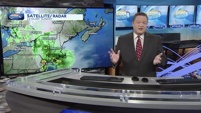 Watch: Unsettled weather on the way