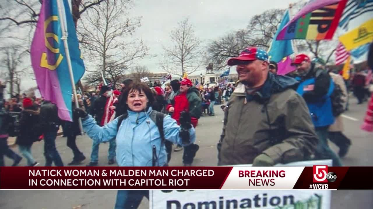 2 Mass. residents arrested by FBI following US Capitol riots