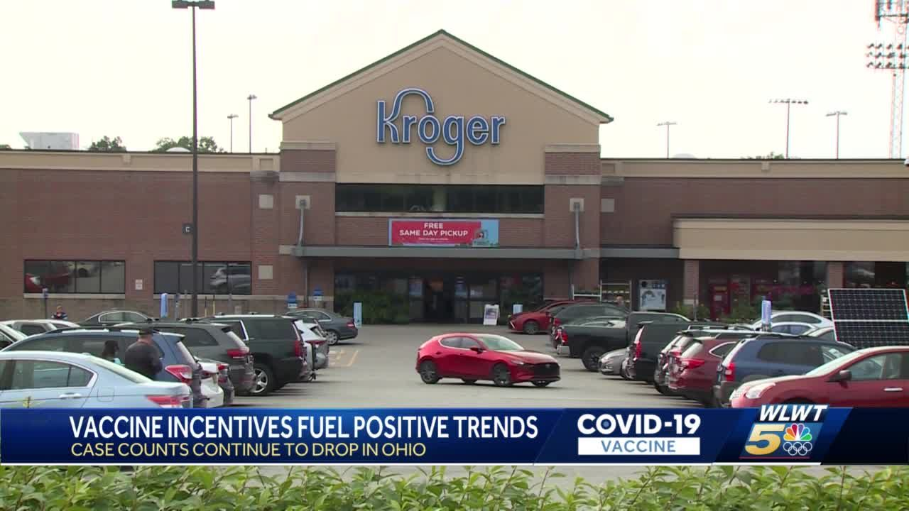 Kroger's first COVID-19 vaccine giveaway winners being selected, putting spotlight on incentives