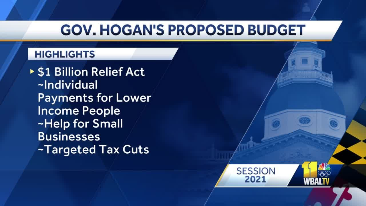 Hogan: Maryland state budget aims to provide economic recovery
