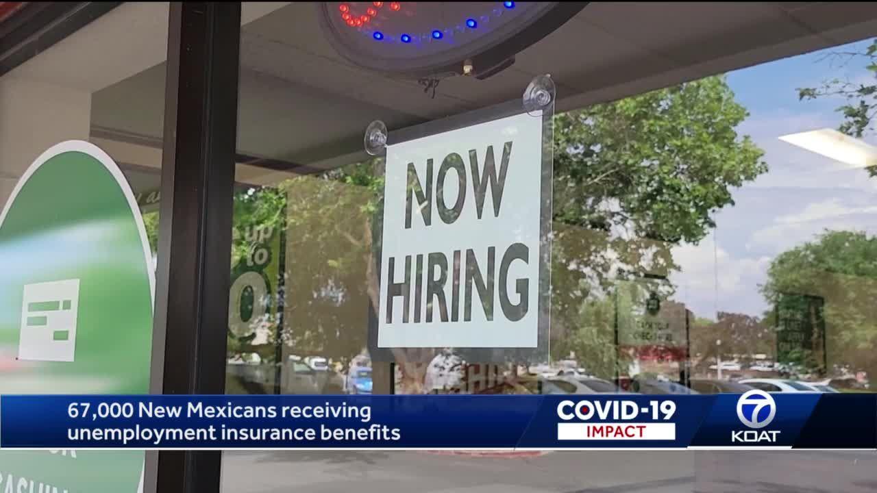 67k on unemployment benefits