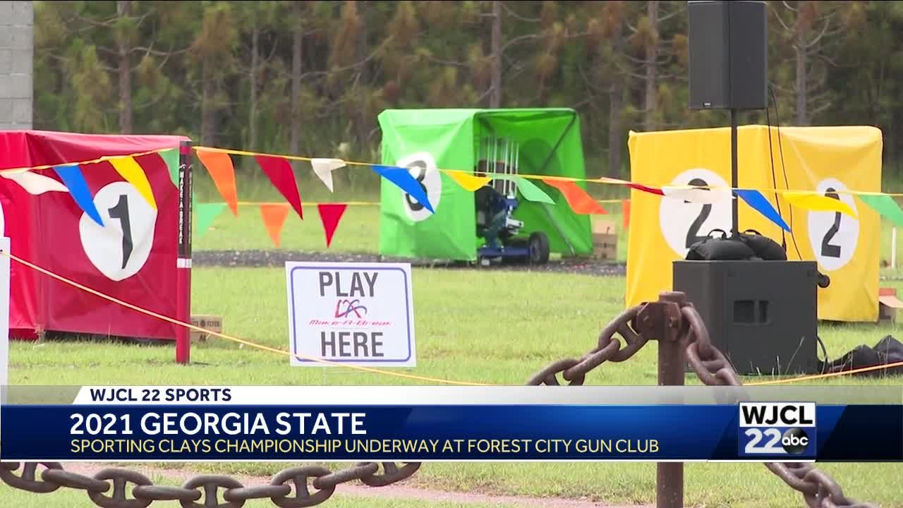 Georgia State Sporting Clays Championship underway in Savannah