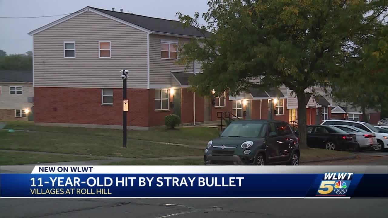 11-year-old recovering after being struck by stray bullet in his Villages at Roll Hill home