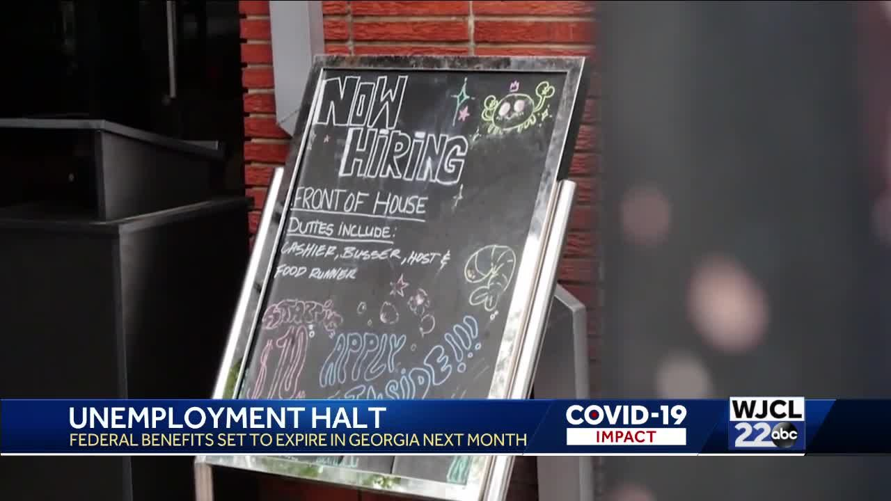 Resident react to Georgia ending federal unemployment benefits