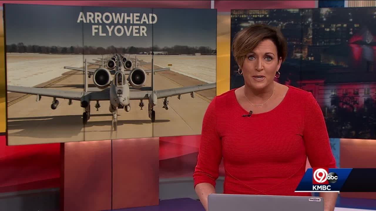 A-10 Thunderbolts flyover planned for Chiefs AFC Championship at Arrowhead Sunday