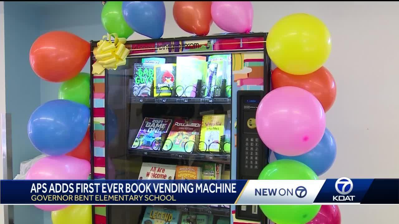 APS adds first ever book vending machine
