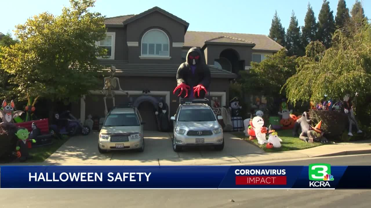 A look at how some Rocklin residents are celebrating Halloween