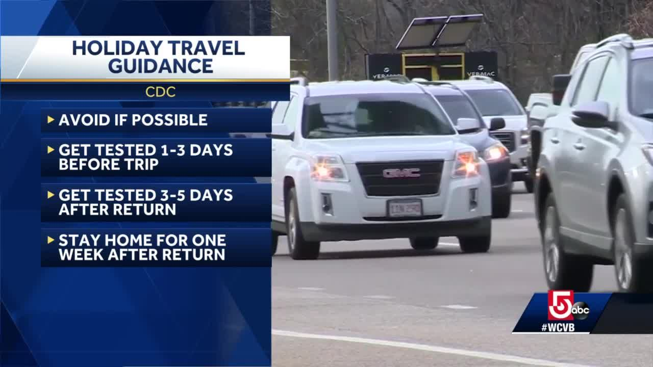 Stay home for upcoming holidays, CDC says