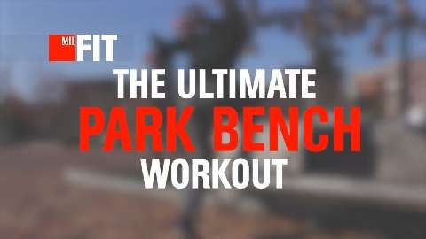 The Ultimate Park Bench Workout