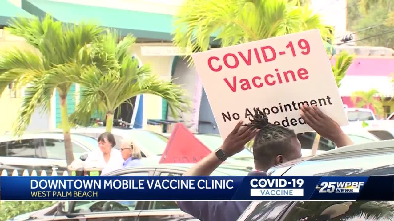 WPB Downtown Vaccine Clinic