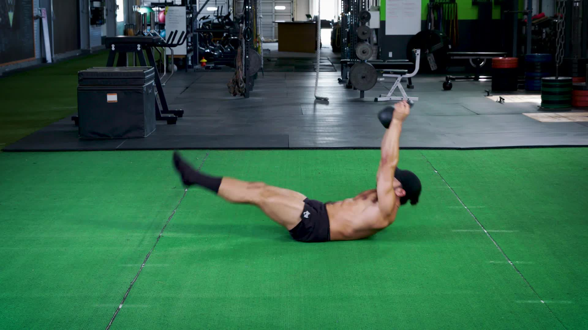 This Kettlebell and Bodyweight Workout Is Harder Than it Looks