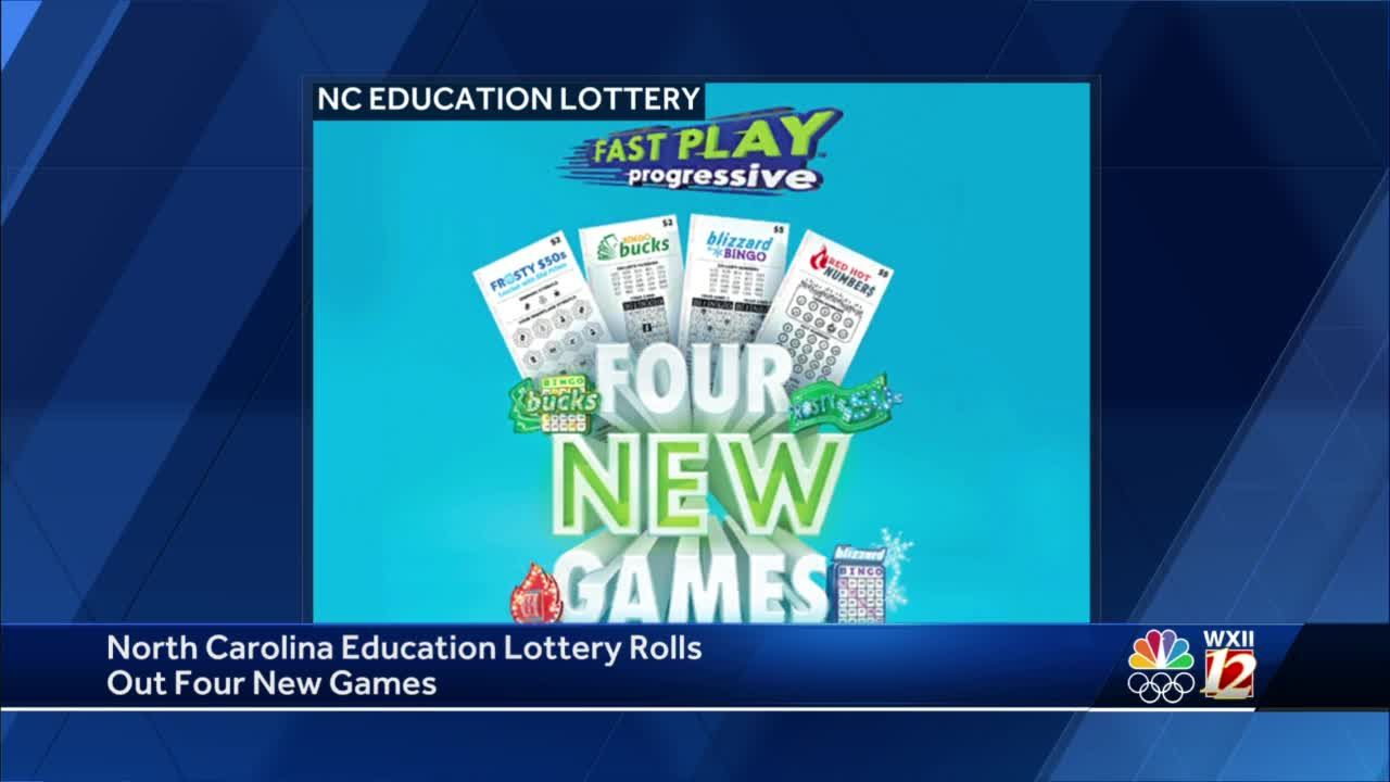 North Carolina Education Lottery launches 4 new instant-win games