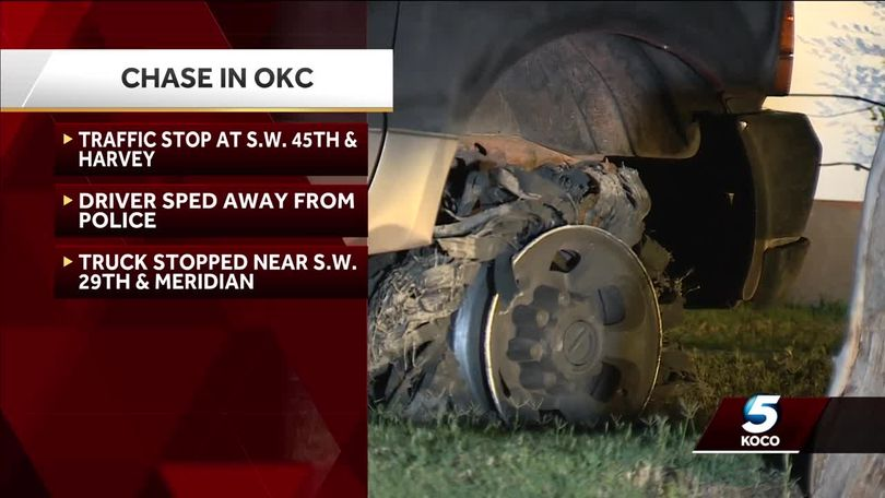High-speed chase in southwest Oklahoma City ends in crash
