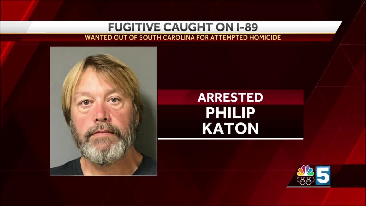 Man wanted for attempted homicide in South Carolina arrested in Vermont